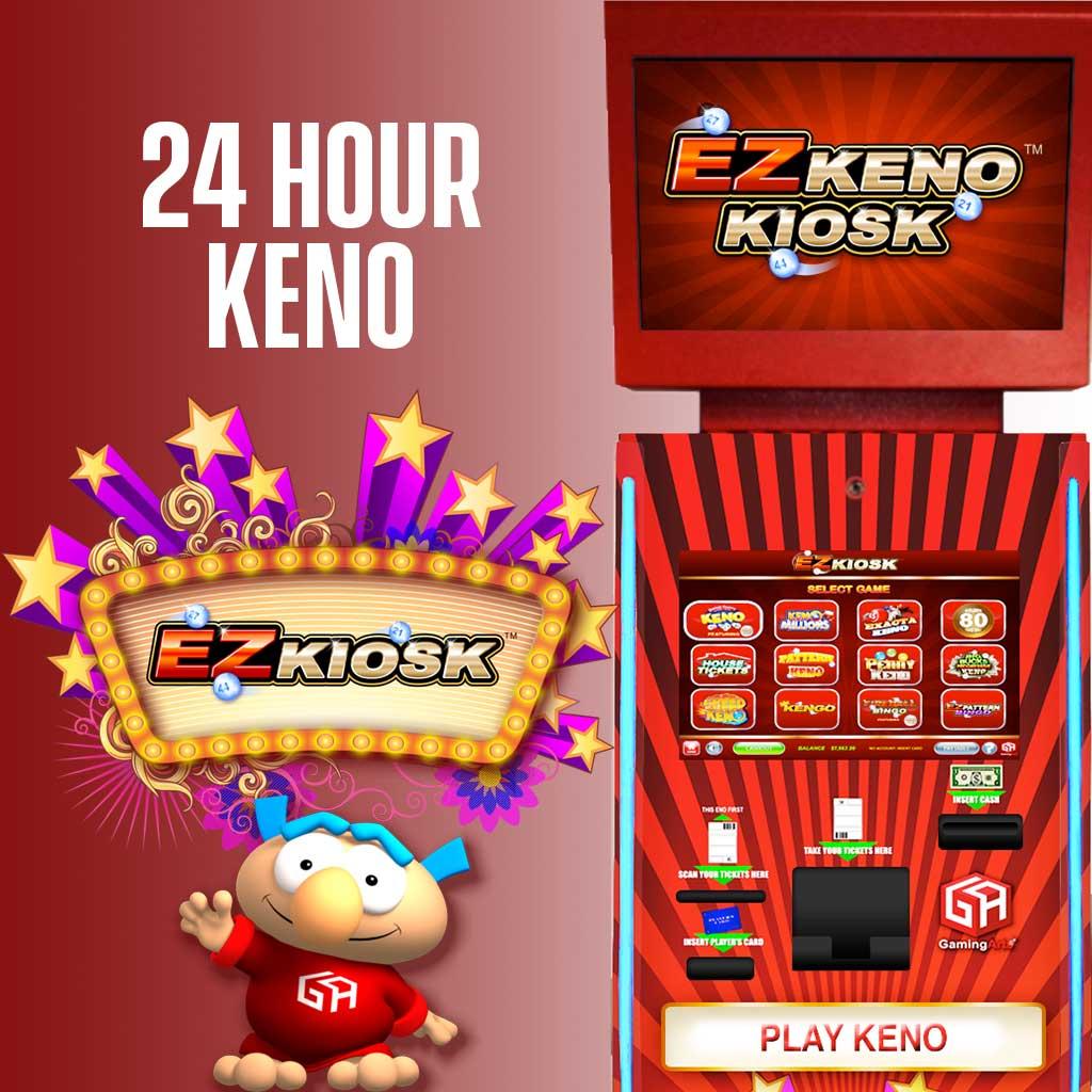 EZ Kiosk 24 Hour Keno