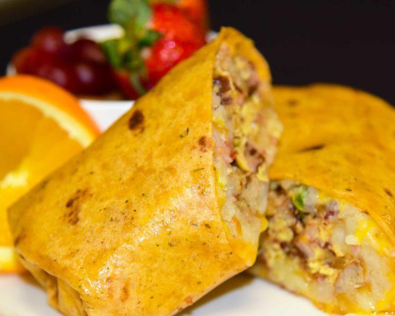 Wildhorse Hot Rock Breakfast Burrito