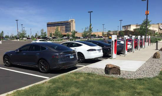 Wildhorse Resort & Casino Tesla Charging Stations