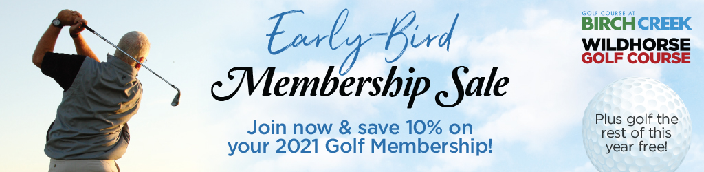 2021 Golf Membership Sale