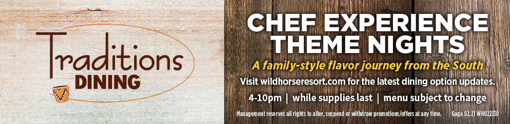 Traditions Chef Experience Theme Night Banner Ad
