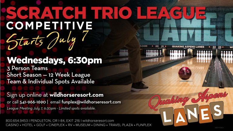 Trio League Bowling July 21