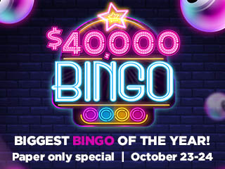 $40k BINGO